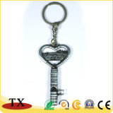 Regalo en blanco modificado para requisitos particulares Keychain del metal