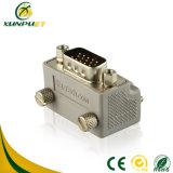 Hembra portable modificada para requisitos particulares del PVC al adaptador masculino del convertidor DVI de la potencia del VGA