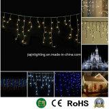 Música Icicle LED de Luz da Luz decorativa de Natal