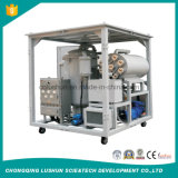 Marca Lushun 9000 litros/h multifunción eliminando las impurezas del aceite hidráulico de la aviación equipo purificador de aceite de sistema de vacío.
