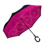 거꾸로 하는 본래 안팎이 없는 옷 C 손잡이 우산을 안쪽으로 열기