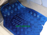 5PCS/Set de blauwe Matten van de Voet van de Auto bekleedt pvc Skidproof