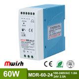 Schaltungs-Stromversorgung der Heiß-Verkauf LÄRM Schienen-SMPS 60W 24VDC