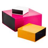 Contenitore di regalo pieghevole della chiusura magnetica di lusso di disegno