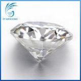 6.5mm를 1.0 캐럿 느슨하게 빛나는 둥근 H&a 커트 Gh 색깔 아주 Moissanite 다이아몬드