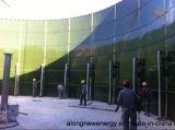 1*1200m3 Cstr + 1*2000m3 Uasbの鋼鉄タンクまたはダイジェスターのBiogasのプラント