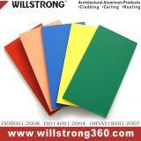 Se référant matériau aluminium panneau composite pour signer