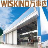 Prefabricated 가벼운 강철 구조물 H 강철빔 및 란