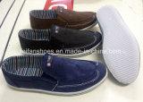 新式の人の通気性のキャンバスの運動靴の偶然靴(LG0519-12)