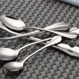 ステンレス鋼のローズの金の食事用器具類セット