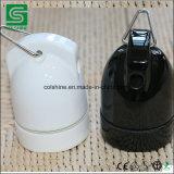 SAA Cer zugelassener Weinlese-Art-Porzellan-hängender Lampenhalter mit einem Haken