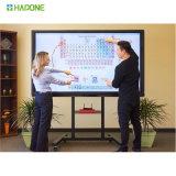 Panneau d'affichage interactif d'écran tactile de grand format de l'affichage à cristaux liquides 4K de DEL