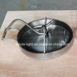 Tampa de inspeção do vaso de aço inoxidável
