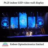 단계, 연주회, 쇼 및 사건을%s 고해상 P6.25mm LED 영상 벽 전시