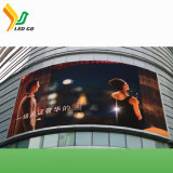 L'extérieur de la courbe de l'écran Affichage LED étanche pour l'hôtel