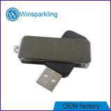 Silberne Farben-Metalltorsion USB-grelle Platte mit niedrigem Preis
