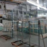 Vetro Tempered ultra chiaro basso del ferro, vetro solare, comitato di vetro trasparente