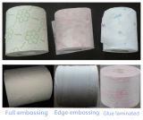 Nueva máquina automática de rollo de papel higiénico papel higiénico de la línea de producción