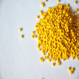 L'ABS/ PP/PE de l'environnement /le caoutchouc recyclé en plastique de couleur jaune masterbatch