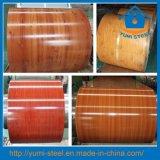 Деревянные зерна стали катушки PPGI/PPGL холодного рулонов