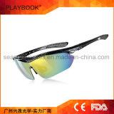 Зрение стекел UV400 глаза шестерни Sun слепимости миопии приполюсное высокое задействуя управляющ солнечными очками напольного спорта