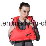 Het draagbare Opblaasbare Reddingsvest van het Neopreen snorkelt Vest