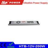 bloc d'alimentation de commutation de 200W 16A 12V pour le signe ultra-mince de Lightbox