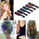 Colors Temporary Hair Chalk Comb with Brush for Girls party Cosplay
