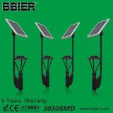 3900lm 30-Watt-angeschaltene Bewegungssolarlichter