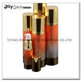 Luxe de empaquetage de modèle de vente en gros de mode de produit de beauté en plastique neuf d'or