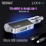 2000mAh 건전지를 비용을 부과하는 Mic USB를 가진 Seego 최고 E 액체 E 담배