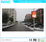사용 광고를 위해 폴란드 가벼운 상자를 광고하는 거리 장방형 강화 유리