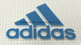 Impresión de transferencia de calor de silicona con Logo para personalizar las prendas de vestir Accesorios