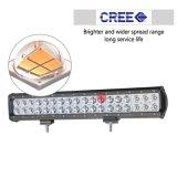 Commerce de gros Super Bright 2 rangées 108W 17pouces barre lumineuse à LED