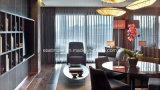 Mobília padrão do quarto de hotel do hotel de madeira agradável do projeto