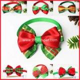 Acessório de natal Promotion-Gift Dog bow tie, Bowties Britânico para o Pet
