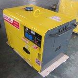 Малым охлаженный воздухом тепловозный генератор морского пехотинца генератора 5kw 6kw 7kw