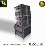 Kara&Sb18 verdoppeln 8 Zoll Spitzendas bi-c$amped Zeile Reihen-Lautsprecher und sondern eine 18 Zoll-Vorzeile Reihen-System aus