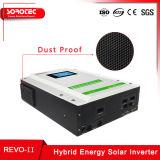 Amplia gama de entrada de PV Inversores solares híbridas con Pantalla Táctil