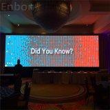 Крытая индикация полного цвета P3.91 экрана этапа СИД стены HD СИД видео-