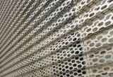 Überzogenes Aluminium durchlöchertes Blatt mit lochenden Löchern färben