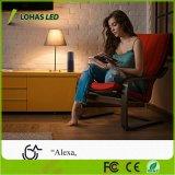 Lohas 9W A19/A60 GU24 Lampe LED intelligent de lumière WiFi Compatible avec Alexa