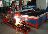 Máquina de estaca barata econômica do gás da flama do plasma do CNC do modelo da tabela do baixo preço