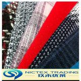 Fournisseur de tissu de laine Tweed, tissu de laine de laine pour manteau, tissu de laine tissé, chevrons tissu de tweed
