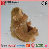 昇進のための現実的なぬいぐるみ柔らかい猿のプラシ天のおもちゃのゴリラ