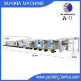 Automatische Hochgeschwindigkeits-UVlack-Maschine mit Duai-Stellte Reinigungsmittel für 230g~600g PapierXjt-4 ein (1200)