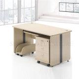 Weißer Gebrauchtgeräte- Schreibtisch mit Fach-Studien-Tisch-Möbeln (SZ-CDT027)
