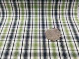 Tela listo el 100% de los hilados de algodón tejido teñido con el cheque Pattern-Lz7128