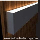 4129 herauf unten ummauern helles Aluminiumaluminium-Profil des strangpresßling-LED