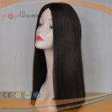 Peluca superior de seda de la Virgen del pelo humano de Remy (PPG-l-01649)
